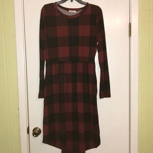 Dresses & Skirts - Buffalo plaid dress